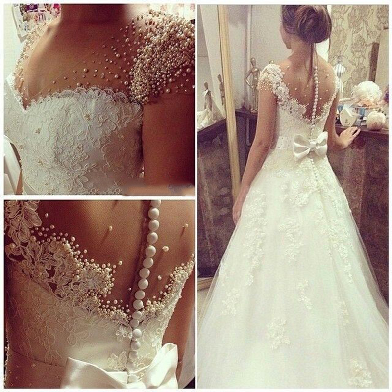 Aliexpress.com : Buy Robe De Mariage Romantic V Neck