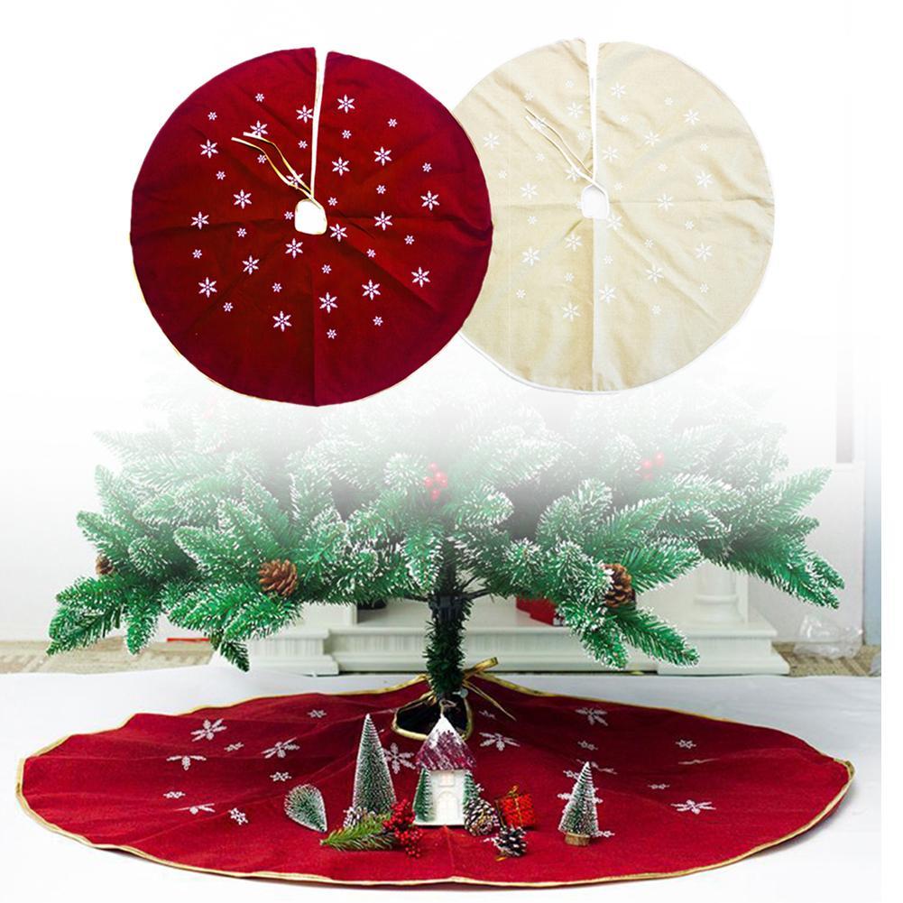 Neue Weihnachts Baum Rocke 120 Cm Gedruckt Weihnachten Baum Rock