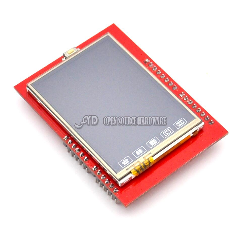2.4 inch TFT touch LCD Screen Module For UNO R3 Free Shipping