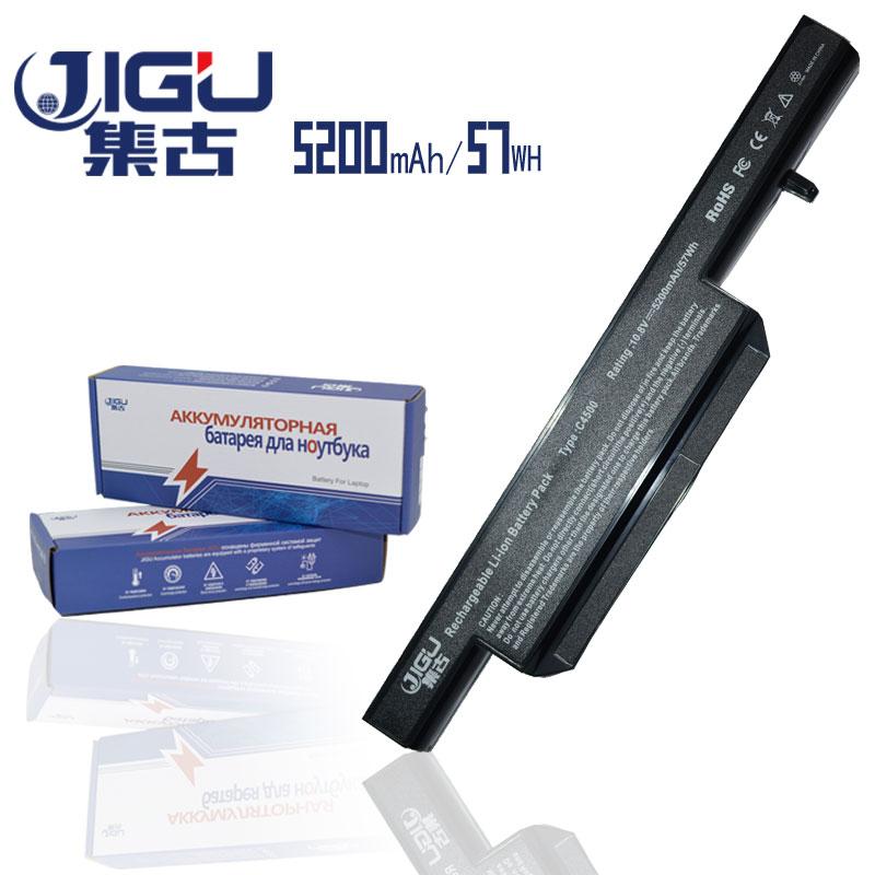 JIGU Laptop Battery For CLEVO C5505C Series W150ER W150HN W150HR W170ER W240EU W24BHU W240CU W240HU W251EUQ brand original clevo blue sky w150er fan 6 31 w15en 102 module