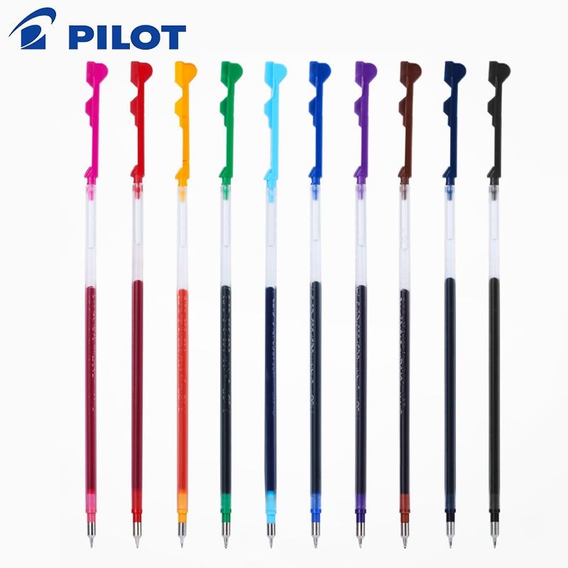 6pcs/lot Pilot Hi-Tec-C Coleto Gel Multi Pen Refill - 0.3/0.4/0.5mm Black/Blue/Red/ 15 Colors Available