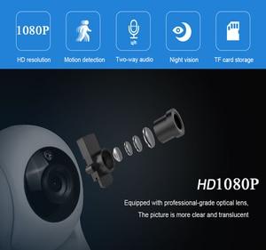 Image 2 - INQMEGA Cloud 1080P IP камера , беспроводная, автоматическое отслеживание, домашняя камера безопасности, камера наблюдения, Wifi, CCTV камера, детский монитор