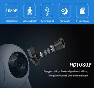 Image 2 - INQMEGA Cloud 1080P caméra IP sans fil Auto suivi caméra de sécurité à domicile caméra de Surveillance Wifi CCTV caméra bébé moniteur