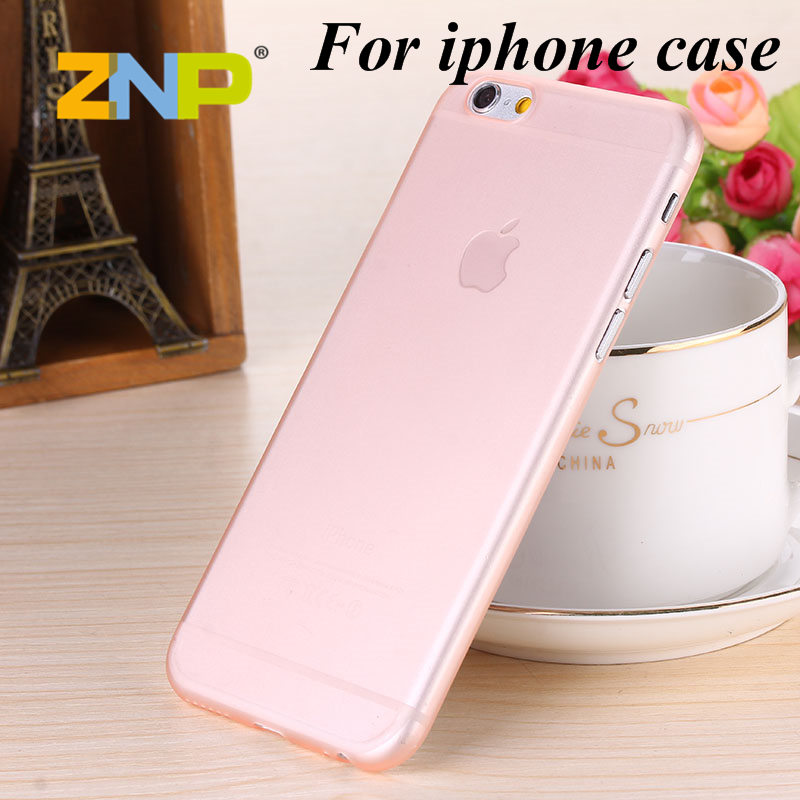 0.3mm Ultra thin matte Case cover for iPhone 6/6S Translucent slim Soft plastic Cellphone Phone Cases