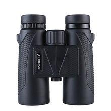 أحدث منظار ذو العينين للتكبير عالي الدقة 10X تكبير قوي مضاد للماء للصيد بضوء منخفض مستوى الرؤية الليلية مناظير للتنزه