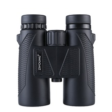 El más nuevo telescopio Binocular HD Zoom 10X aumento potente impermeable caza bajo nivel de luz visión nocturna binoculares senderismo