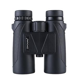 Image 1 - Neueste HD Zoom Fernglas Teleskop 10X Vergrößerung Leistungsstarke Wasserdichte Jagd Niedrigen Licht Ebene Nachtsicht Fernglas Wandern