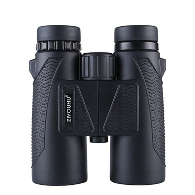 Neueste HD Zoom Fernglas Teleskop 10X Vergrößerung Leistungsstarke Wasserdichte Jagd Niedrigen Licht Ebene Nachtsicht Fernglas Wandern