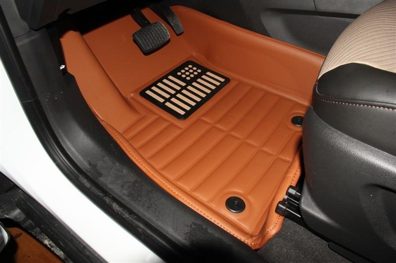 Myfmat neue anpassen wasserdicht dicke haltbare Spezialmatte Leder - Auto-Innenausstattung und Zubehör