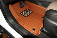 Myfmat new customize waterproof thick durable special mat leather big surrounded car floor mats carpet rugs set leather for golf