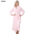 BXMAN Brand New Inverno 100% Poliéster Robe Sexy Mulheres Poliéster Das Mulheres Roupões de Flanela Homewear