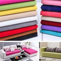 100 145cm Solid Thick Fleece Fabric For Sewing Sofa Sets Blanket Pillow Cushion Covers Bag Diy