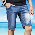 Pioneer Camp 2017 new fashion summer denim shorts men short jeans men jeans slim trousers thin straight jeans men's pants 375507