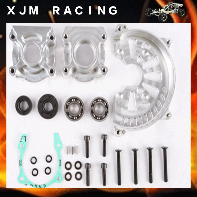 1 5 rc car Billet car engine case kits fit hpi km baja 5b engines parts