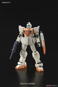 Image 2 - Bandai Gundam HGUC 1/144 RGM 79 [G] GM Boden Typ Mobile Anzug Montieren Modell Kits Action figuren Kunststoff Modell