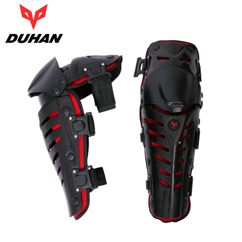 DUHAN Outdoor Sports MX Knee Protective Pads Gear Motorcycle Riding Knee Protector Motocross Off-Road Racing Knee Guards new 4pcs set motorcycle motorbike knee pads elbow pads motocross off road racing protector pads guards protective gear 5 colors