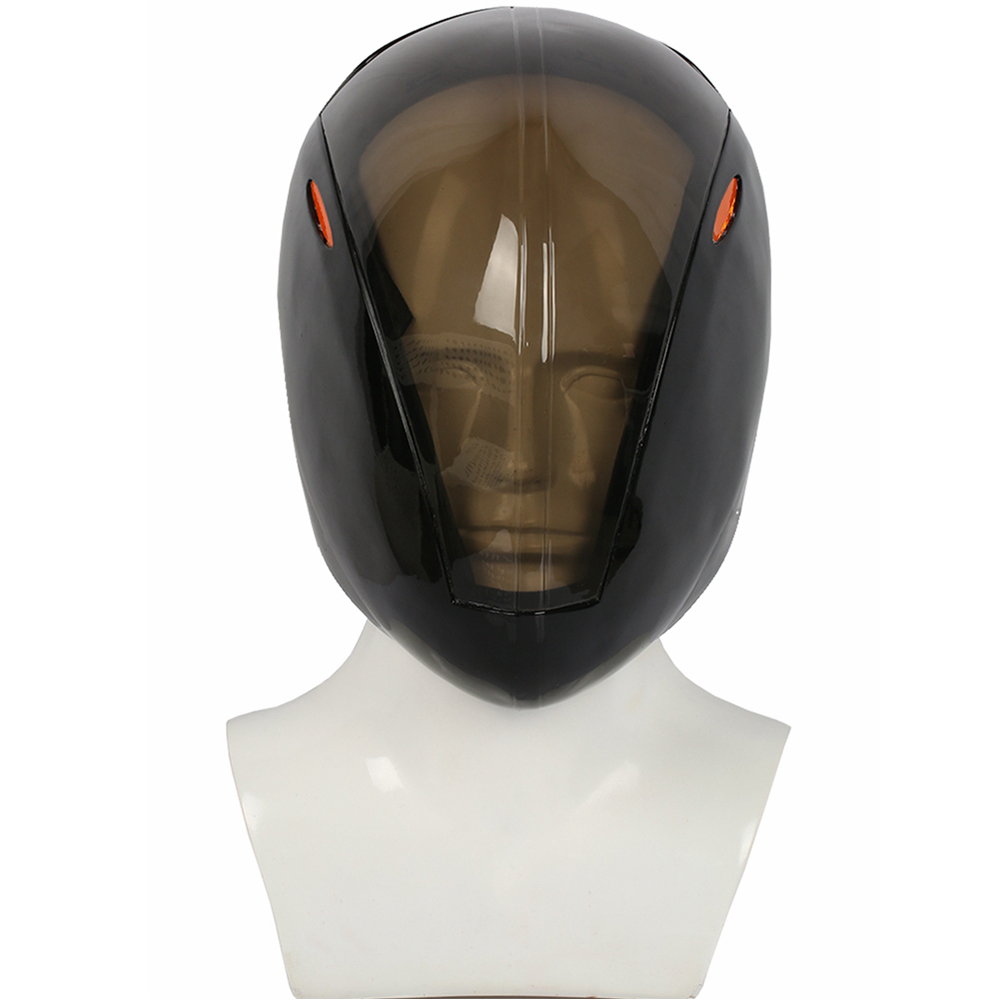 Tron Rinzler Cool Black Transparent Full Head Helmet Mask Game Cosplay Props Festival Holiday Halloween Party