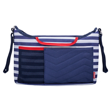 ANNSERRY Fashion Mommy Hanging Bag Antifouling Dirt Resistant Fabric Striped Strong Applicability Convenient Design Hanging Bag