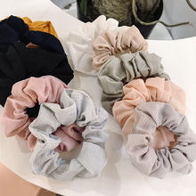 Fashion 1PC Elastic Hair Ropes Sweet chiffon Ponytail Holder Scrunchie Women Rubber Band Accessories