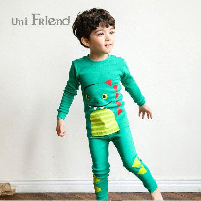 866756880b76 100% cotton enfant pajamas kids 2018 Spring unifriend pajamas for ...