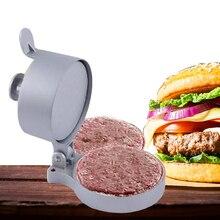 Aluminum Alloy Hamburger Meat Press Beef Patty Makers Mold Kitchen Gadget