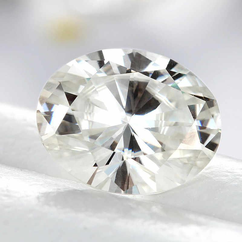 4*6 มม.0.4 กะรัตสีขาว Moissanite หินหลวม Moissanite Diamond สำหรับแหวนทำ