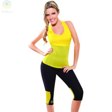 2016 Women Body Shaper Neoprene Hot Shapers Colorful Tank Top Sports Yoga Fitness Running Jogging Gym