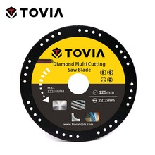 TOVIA 125mm Diamond Circular Saw blade Cutting Steel Stainless Steel Multipurpose Angle Grinder Saw Disc Power Tool Accessories