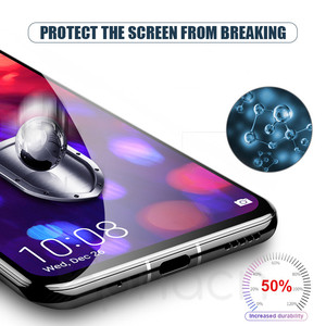 Image 4 - 9D Tempered Glass on the For Huawei Honor 8X 8C 8A 9i 10i 20i V20 V10 V9 Play Note 10 Magic 2 Screen Protector Protective Film