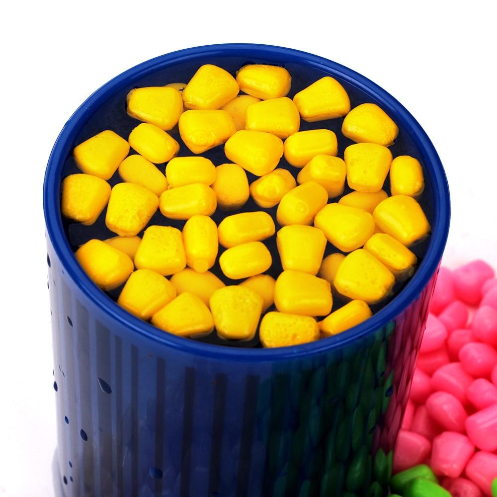 100pcs Plastic Carp Corn Fishing Lure Flavour Baits Soft Floating Fishing Lure