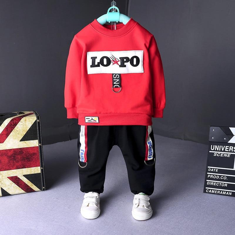 BibiCola infant boys clothing sets spring autumn kids boys casual tracksuit children jacket+pants 2pcs set baby boys outfits