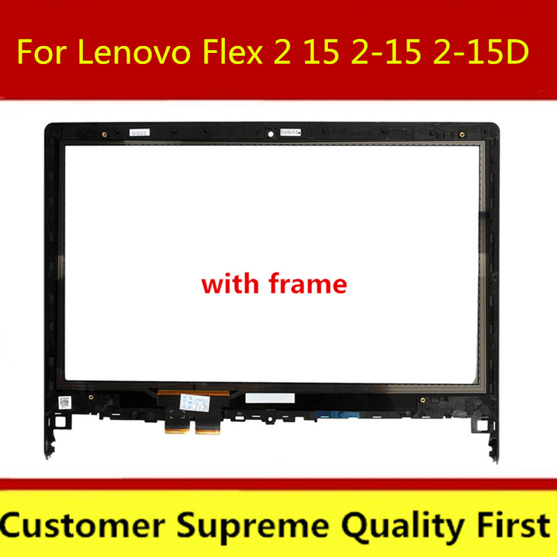 """15.6/"""" FHD IPS LCD TouchScreen Assembly Bezel For Lenovo Flex 4-1580 4-1570 80SB"""