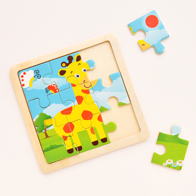 Paper Jigsaw Puzzles for Children Kids Toys 1