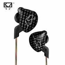 KZ ZST L Bending In Ear Earphone Hybrid Drive HIFI Running Sport Earphones Earplug Earphone With Mic/Without Mic