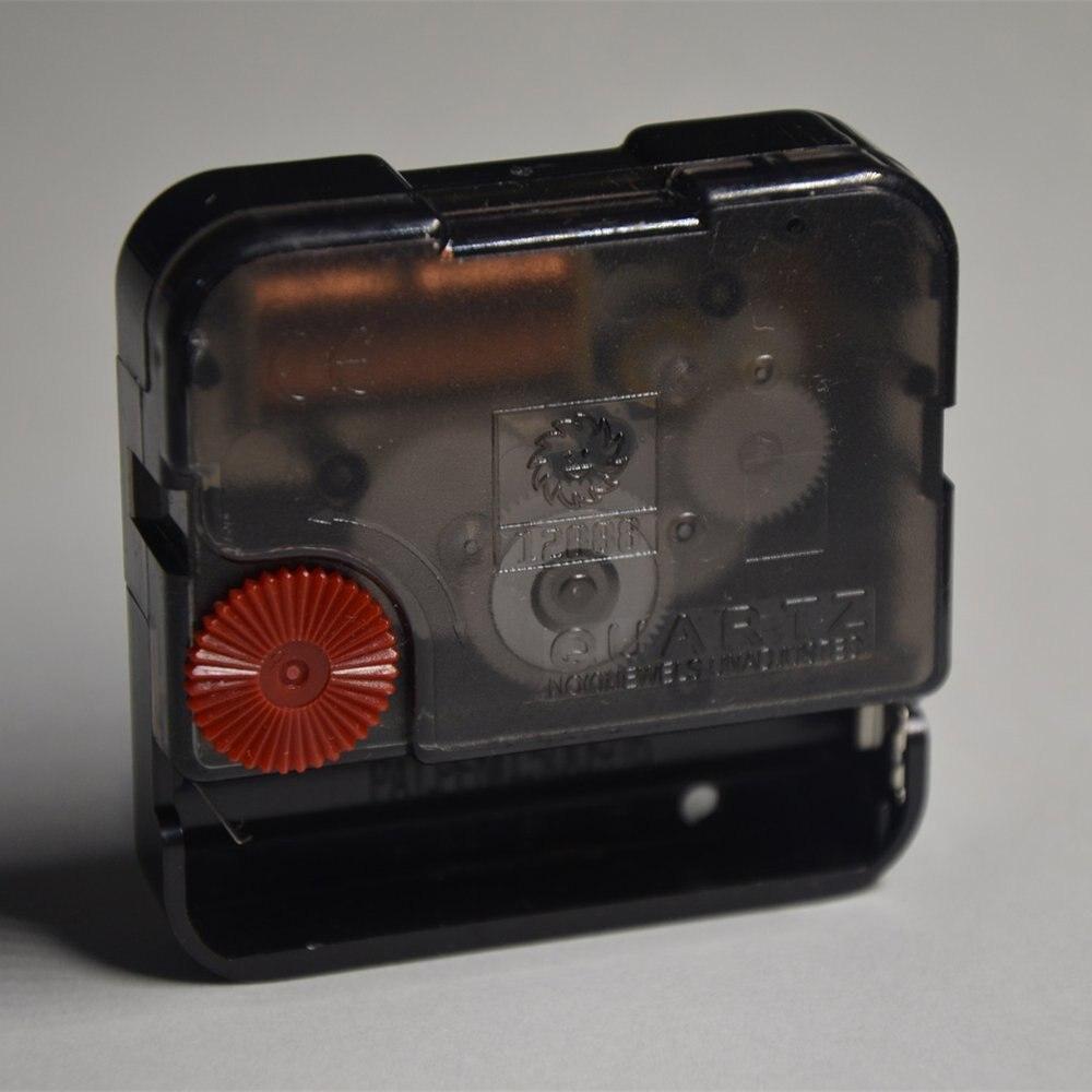 12888 Uhr Zubehör Quarzwerk 6mm Schwarz Schraube Sweep Bewegung Mit Uhr Hand Diy Uhr Kits Ohne Hand