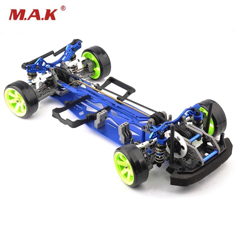 1:10 Scale Aluminium Alloy RC Drift Frame Kit 4WD626801ABL RC Body On load Drift Racing Car Accessories туринг 1 10 rs4 sport 3 drift subaru brz