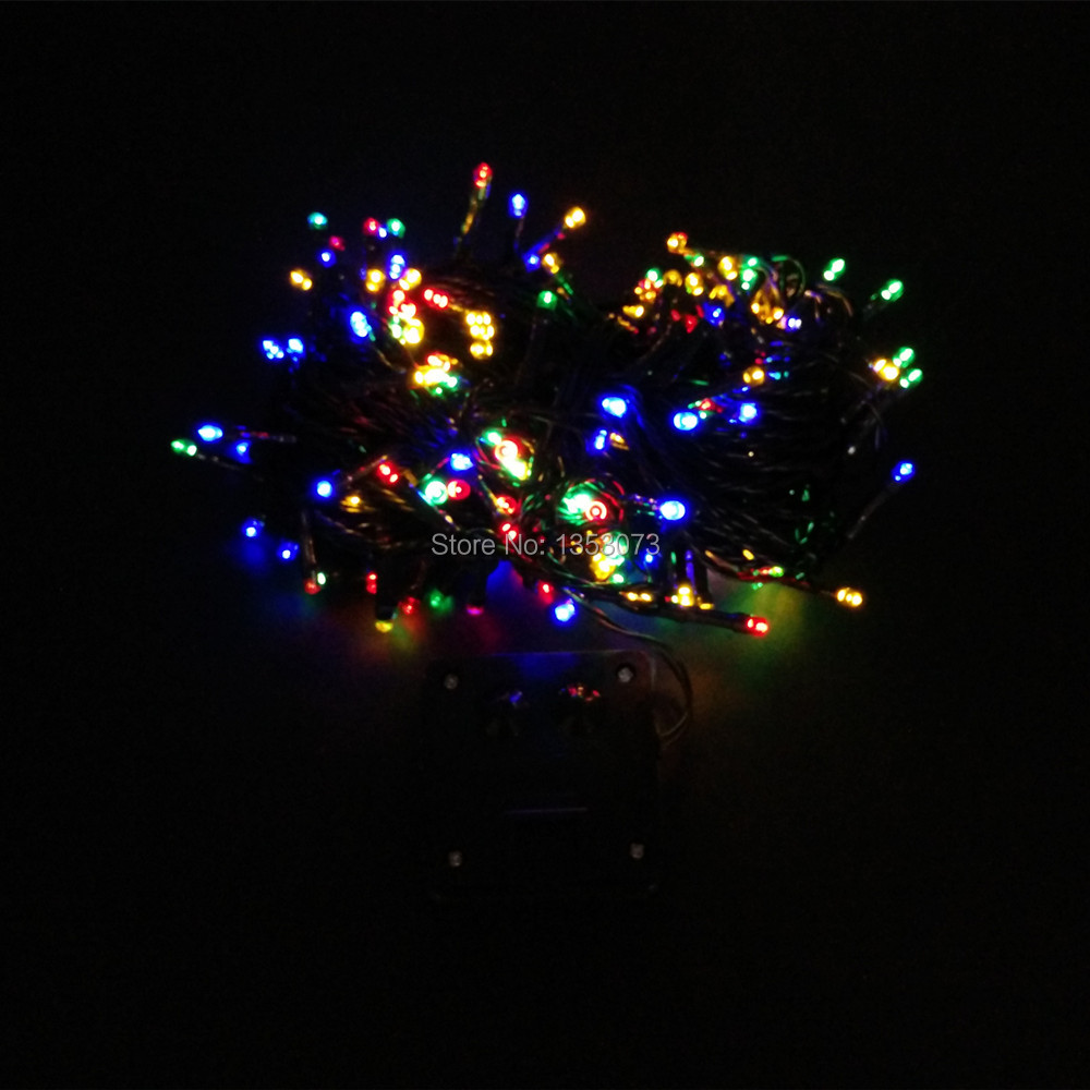 22M 200LED Solare Lights Outdoor Solar Powered LED String Fairy automatic Garden waterproof Christmas - rgb lighting 1-2