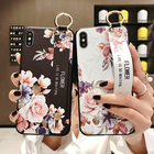 3D тиснение розы цветок ремешок на запястье ремешок для рук чехол Samsung Galaxy S10 Lite S9 S8 плюс ✔