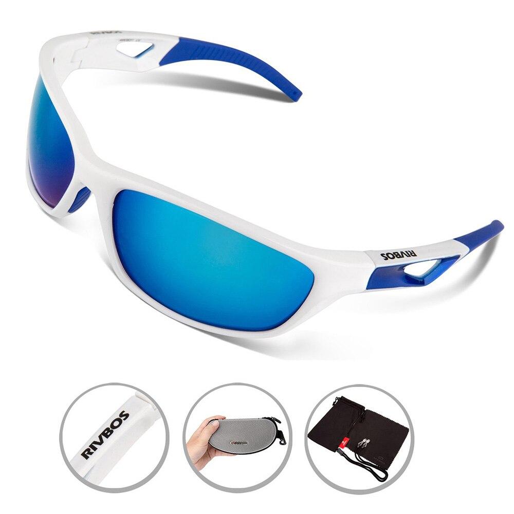Цена за RIVBOS Поляризационные Спортивные Солнцезащитные Очки Мужская UV400 Работает Очки Велоспорт солнцезащитные Очки Очки Велосипед Солнцезащитные Очки Tr90 Gafas Ciclismo