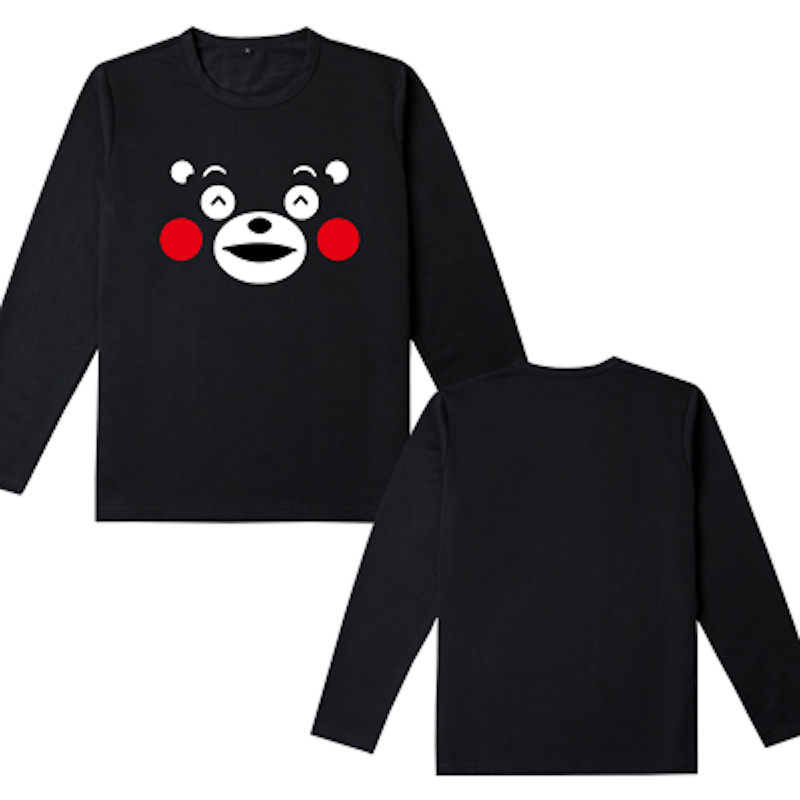 12 styles Cute Unicorn Kumamon long sleeve t shirt Lovely Bear men's tshirt kawaii boys clothes cotton t-shirt tops tees