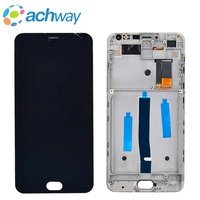 MeiZu M2 Note LCD Display Touch Digitizer Screen Assembly With Frame M2 NOTE LCD For Meizu