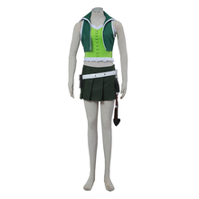 FAIRY TAIL Cosplay Lucy Costume Halloween 3 generation Costumes Women Full set Green Uniform Suit B190