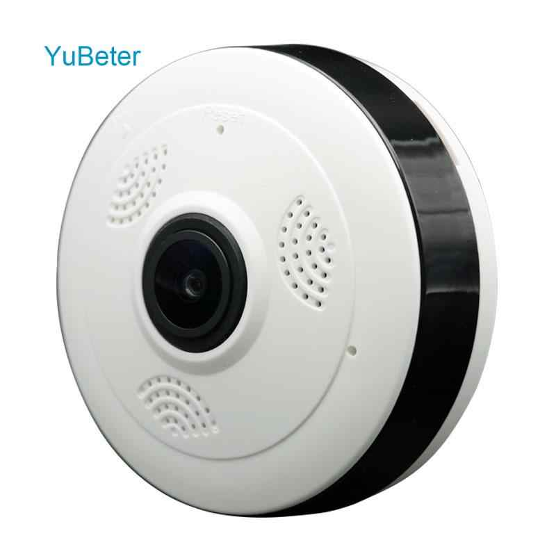 YuBeter 960p 360 Panoramic wifi Camera IP Wireless Home Security CCTV fisheye Two Way Audio Infrared Night Version 130W Camera