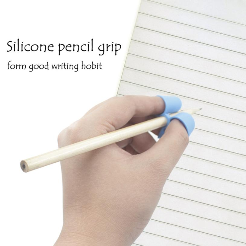 1 PC Silicone pencil Grip My House Children Silicone Pencil Holder Pen Writing Aid Grip Posture Correction Tool 17SEP18 cotton spring thomas train children clothes set long sleeve sleepwear pajamas boy sports suit blue tracksuit for 2t 7t kids
