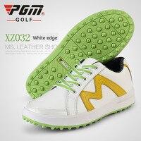 2018 yaz yeni PGM patentli tasarım golf ayakkabıları bayan ayakkabıları anti-yan skid ayakkabı su geçirmez nefes GOLF ayakkabı Ultrafiber