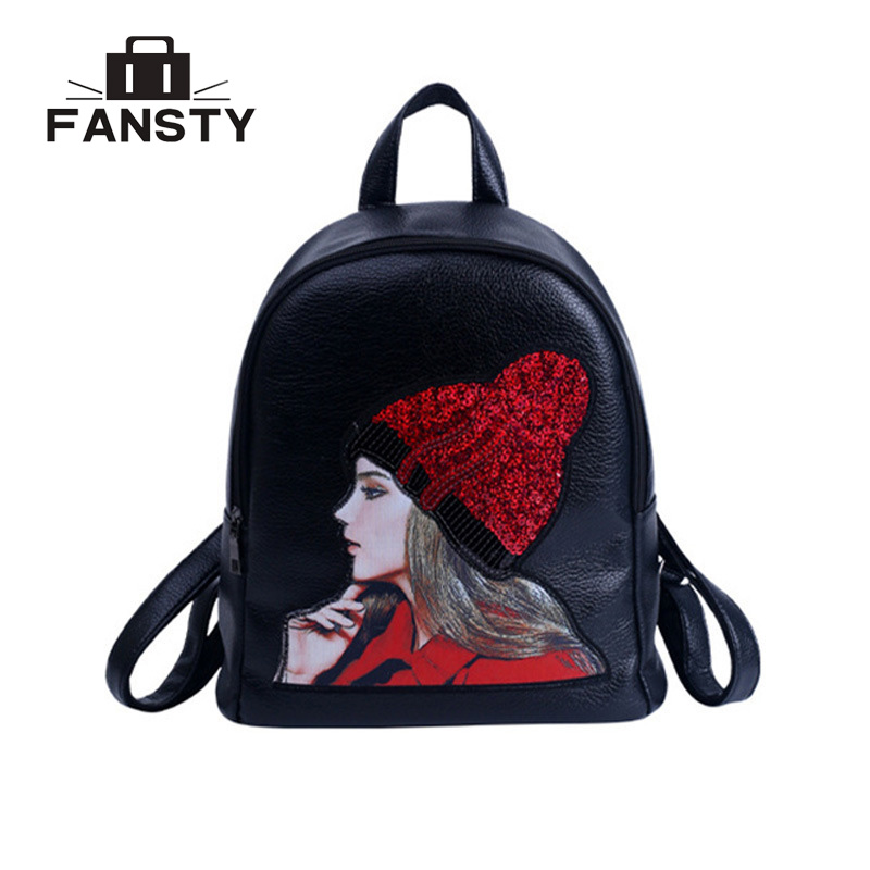 36881ef3737 New Snake PU Leather Women Backpack Female Fashion Rucksack Brand Designer  Ladies Back Bag High Quality Serpentine School Bag
