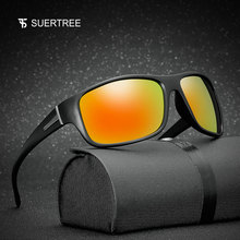 SUERTREE Polarized Sunglasses Men Women Sport Sun Glasses Male Ladies C