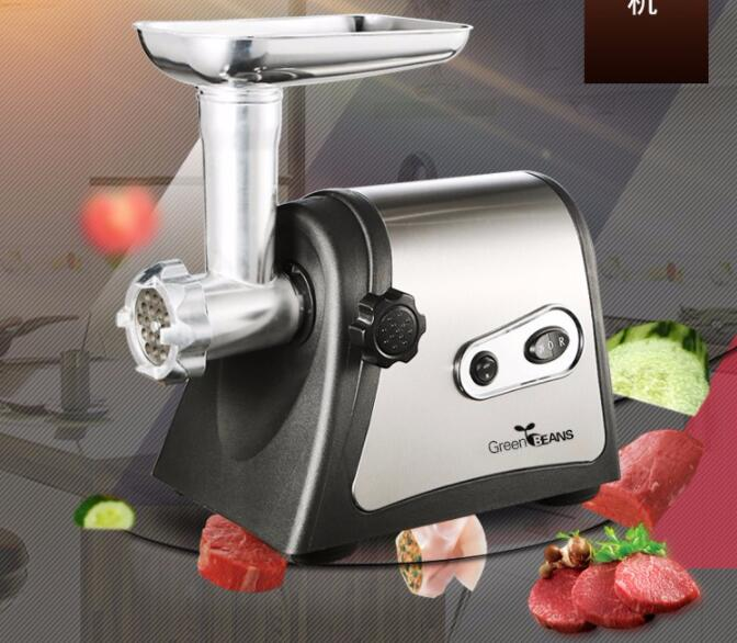 800W stainless steel Home Electric Meat Grinder Sausage Stuffer Mincer Heavy Duty Household Mincer Sonifer 110 240v electric meat grinder heavy duty household commercial sausage maker meats mincer food grinding mincing machine