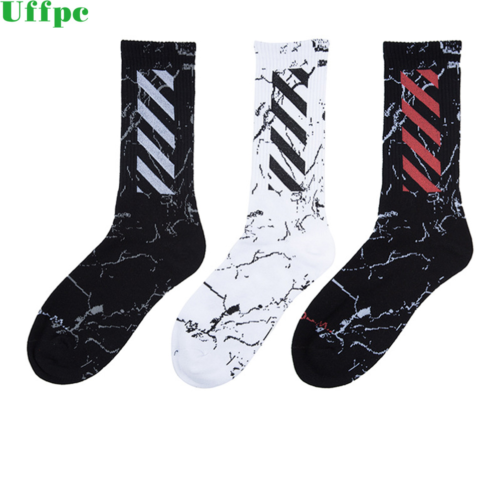 3 pairs/Lot Casual Men Long Mens Socks Cotton Casual Striped Crew Harajuku Comfortable Sokken Skateboard Sox Unisex Happy Sock