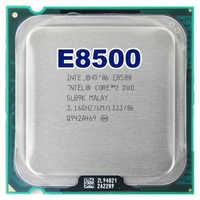 Intel core 2 duo E8500 CPU Processore (3.16 Ghz/6 M/1333 GHz) presa di 775 di trasporto libero della scheda madre cpu combo